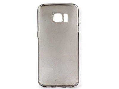 [GIFUTO] Samsung Galaxy S7 Edge TPU磨砂半透明保護套 軟殼 果凍套 – 透灰