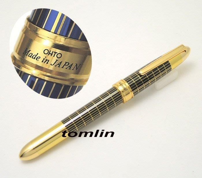 經濟好寫、氣派宏偉:日本 OHTO Majestic 鋼筆,使用全球知名的德國SCHMIDT筆尖。送原廠卡水。