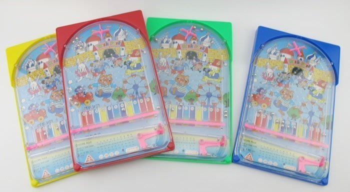 【阿LIN】94826A 台製彈珠台 童玩 古早味遊戲 桌遊 鐵珠 打彈珠 聚會遊戲