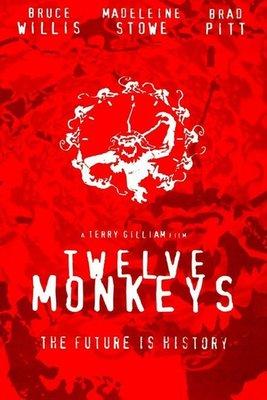【藍光電影】12隻猴子 (1995) 12 Monkeys 未來總動員 67-012