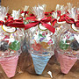 可急件-冰淇淋軟糖糖果盒 可素食 婚禮小物生日 兒童節 萬聖節 聖誕節 贈品