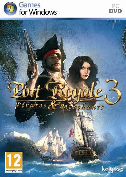【傳說企業社】PCGAME-Port Royale 3: Pirates and Merchants 海商王3(中文版)