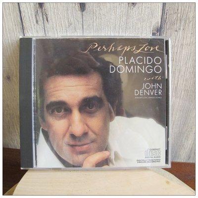 二手CD Perhaps Love 多明哥與約翰丹佛 Domingo with John Denver  [玩泥巴]