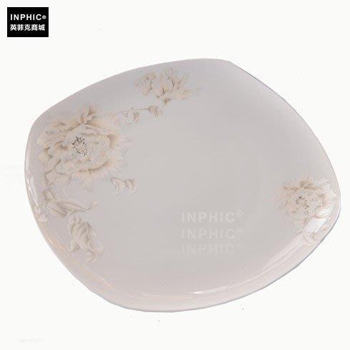 INPHIC-骨瓷餐具單品 方淺盤_S01861C