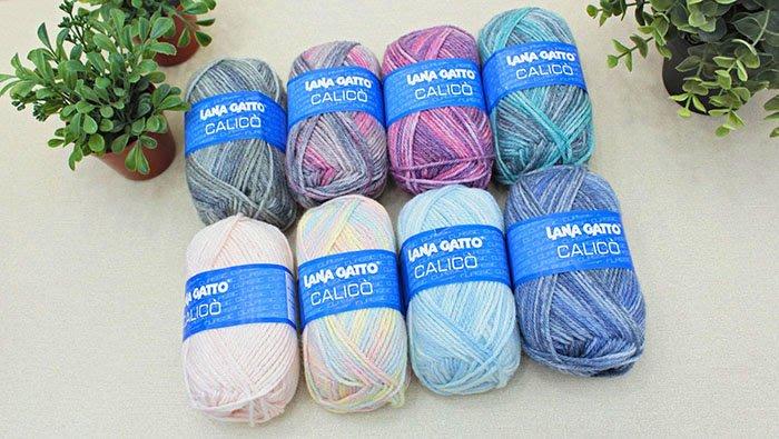 ☆彩暄手工坊☆LANA GATTO 白貓凱莉花線~多色可選!手工藝材料、編織工具、進口毛線、編織書
