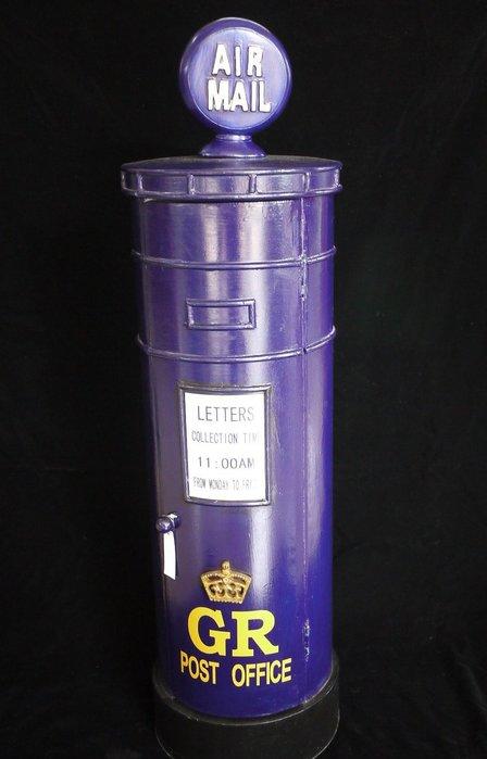 皇家郵筒4層收納櫃CD擺飾收納櫃床頭櫃英式郵箱