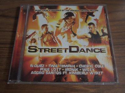 MWM◎【二手CD】Street Dance 舞力對決 電影原聲帶 內圈德版, 片況佳無刮痕