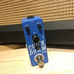 《白毛猴樂器》OUTLAW EFFECTS QUICK DRAW 延遲效果器