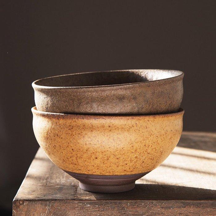 衣萊時尚-日式粗陶茶洗個性復古大號杯洗陶瓷茶碗手工茶海功夫茶道水洗配件