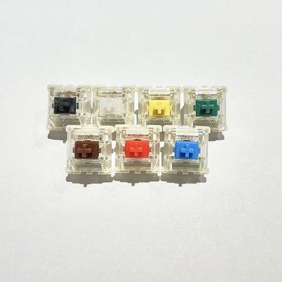 10顆 Gateron 紅軸 青軸 茶軸 黑軸 黃軸 綠軸 白軸 鋼板 SMD 機械式鍵盤 軸心 3腳 開關 DIY