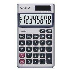 卡西歐 CASIO SX-300P 8位計算機 國家考試機型計算機 好好逛文具小舖