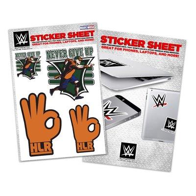 [美國瘋潮]正版WWE John Cena 15X Vinyl Sticker 冠軍榮耀15次經典款圖案貼紙特價中