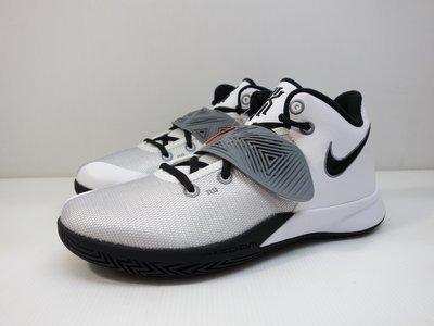 =小綿羊= NIKE KYRIE FLYTRAP III EP 白黑灰 CD0191 103 男生 籃球鞋 歐文 XDR