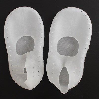 襪套 船型襪(4雙)-防乾裂透氣柔軟防滑矽膠襪子3色73pp624[獨家進口][巴黎精品]