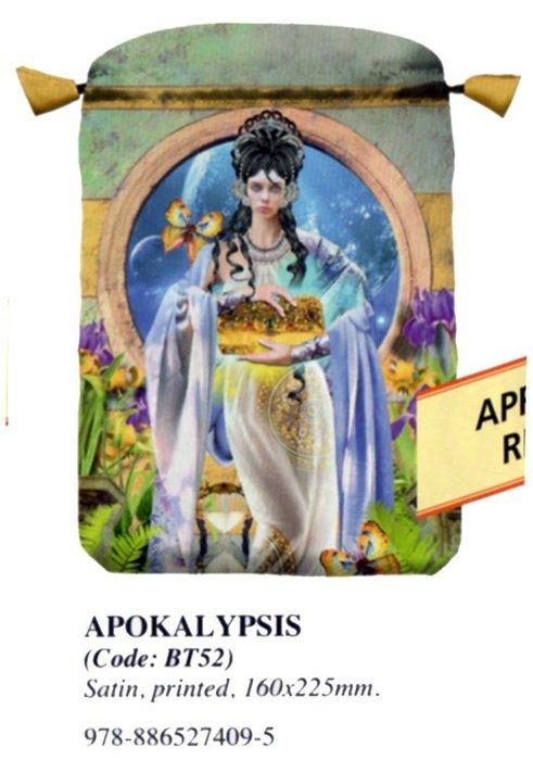 【牌的世界】Apokalypsis啟示塔羅牌袋(聖甲蟲進口雙層綢緞布袋)BT52