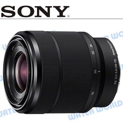 【中壢NOVA-水世界】SONY FE 28-70mm F3.5-5.6 OSS 標準變焦鏡頭 SEL2870 公司貨