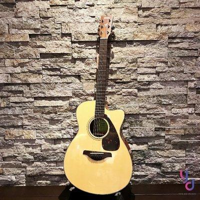 免運費 送原廠琴袋 現貨供應 YAMAHA FSX800C 電 木吉他  民謠吉他 面單板 附拾音器 隨琴贈送周邊配件