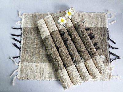 香草 桌巾 35~90 黑白 草編桌巾 藤編桌巾 天然  編織 獨特香氣 峇里島風 餐廳 客廳 商空 咖啡廳