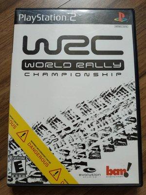 PS2 WRC World Rally Championship 美版 英文版 世界越野錦標賽 拉力賽 保存良好 遊戲片