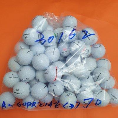 割草阿和 高爾夫二手球(超值價) FOREMOST A3.SUPREME 三層球70顆1顆5元_30162