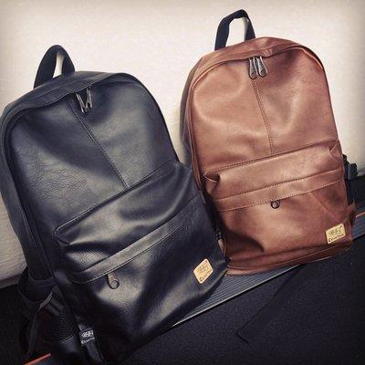 ♣ Welcome Back  ♣2015韓版新款PU潮包雙肩背包休閒購物旅行包