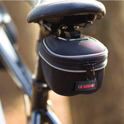 【綠色運動】新款 單車配件自行車/腳踏車 車管包 車尾包 坐墊包 山地車鞍座包 工具包 雜物包( 中號 ) -印