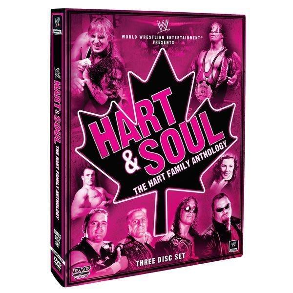 ☆阿Su倉庫☆WWE摔角 Hart and Soul The Hart Family Anthology DVD 哈特家族精選專輯 熱賣中