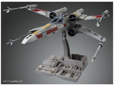 BANDAI 組裝模型 1/72 Star Wars 星際大戰 X戰機 X翼戰機