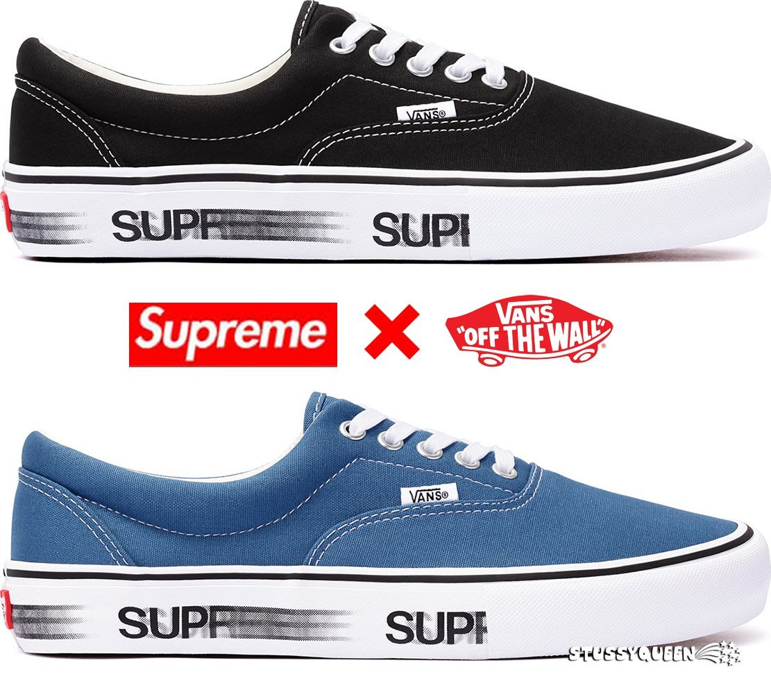 supreme vans off the wall