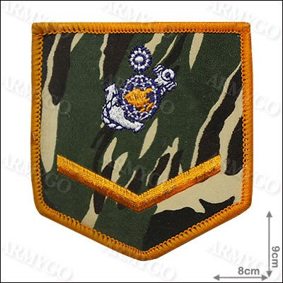 【ARMYGO】海軍陸戰隊 士兵階級臂章 (迷彩版)