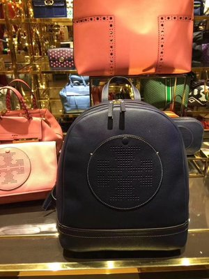 NaNa代購 Tory Burch 627 description perforated logo backpack