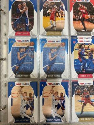 NBA 2020-21 Panini Hoops 球員卡 球卡 籃球卡 籃球 Ingram Rose Melo KP Vucevic Harris 假日哥