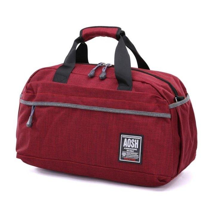 手提行李袋女單肩旅行包帆布包短途旅游包出行包健身包運動包