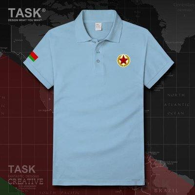 TASK 白俄羅斯Belarus海軍運動翻領POLO衫國家特種兵短袖T恤