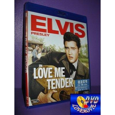 A區Blu-ray藍光正版【鐵血柔情/鐵漢柔情Love Me Tender (1956)】[含中文字幕]全新未拆《貓王》