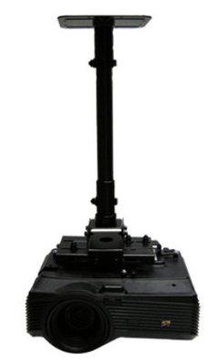 LCD-M1萬用型投影機吊架--質感黑(倒吊式)