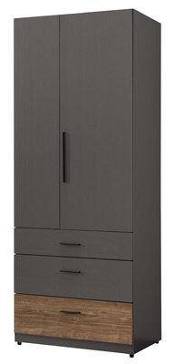 【宏興HOME BRISK】里昂2.5尺三抽衣櫥,促銷全省西部市區免運費。信用卡付款可分期。XU新品21。AA