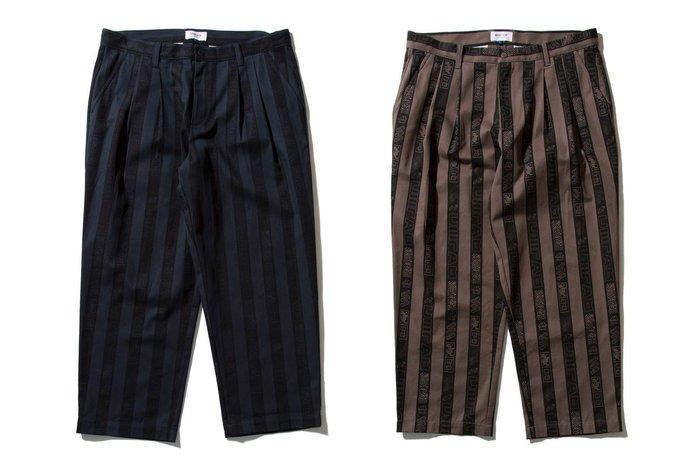 { POISON } DeMarcoLab D3L OVERDYED EZ PANT-S 訂製滿版印花 打褶寬版休閒褲