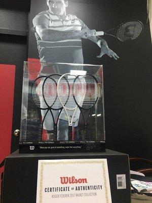 【威盛國際】Wilson Roger Federer Limited Edition 迷你小球拍組 全球限量1000組