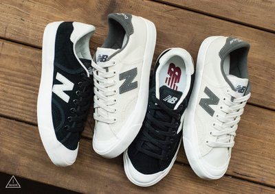 ISNEAKERS NEW BALANCE PROCTSBE NB 帆布鞋 復古 開口笑 韓國公司貨 黑白 米白 兩色
