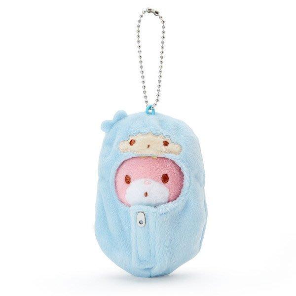 4165本通 造型玩偶吊鍊 雙子星 KIKI-睡袋 4901610582565