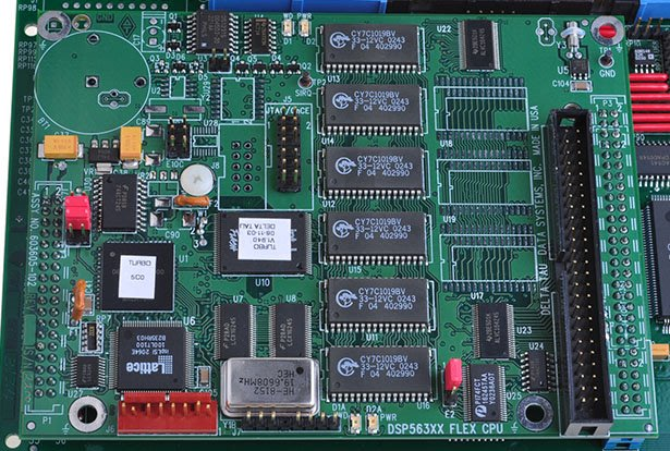 【KC.PLC_FA 】Delta Tau 603605-102  DSP563XX 機板