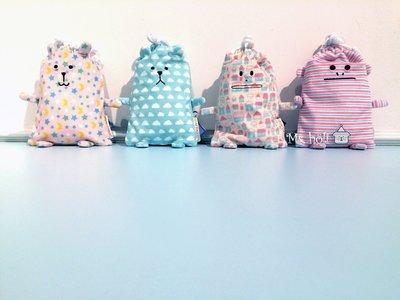 現貨大容量手機收納袋伸縮鑰匙圈票卡夾☄Oyasumi Craft晚安系列☃CRAFTHOLIC大抱枕吊飾手機殼束口袋眼罩白雲朵熊熊斜背包星星兔兔子房子貓貓咪猴子