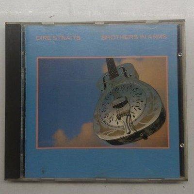 法國銀圈版 英國險峻海峽合唱團(Dire Straits)《BROTHERS IN ARMS》 MADE IN FRANCE 1985年發行