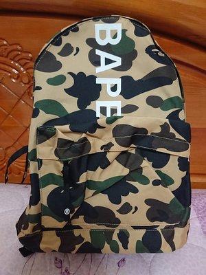 A Bathing Ape BAPE 迷彩後背包