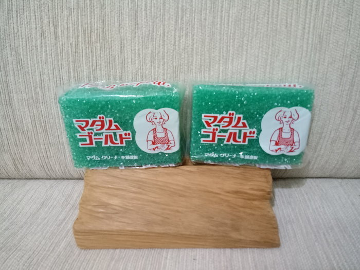 天使熊雜貨小舖~日本金夫人菜瓜布2入一組  日本製  全新現貨