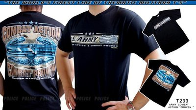 【ARMYGO】美國 7.62 軍事T恤 -陸軍系列 -ARMY COMBAT ACTION 'PROVEN'