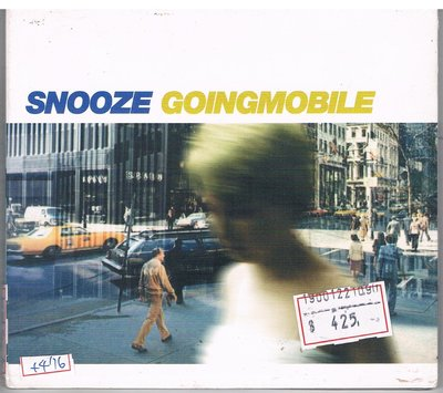 [鑫隆音樂]西洋CD-Snooze-Goingmobile (SSR228)全新/免競標