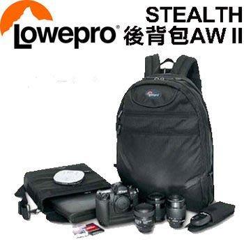 ((名揚數位)) LOWEPRO 羅普 Stealth 報導家 AW II 後背相機包  立福公司貨 / 黑~