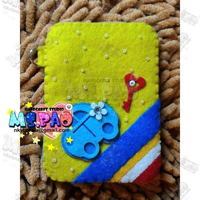 【寶妞的玩藝窩】彩虹嘟嘟車(作品/成品館)卡片套 證件套 健保卡套 會員卡套 悠遊卡套 IC卡套 提款卡套